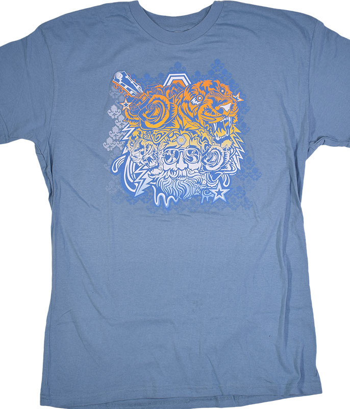 Jerry Garcia Tigers Blue T-Shirt Tee