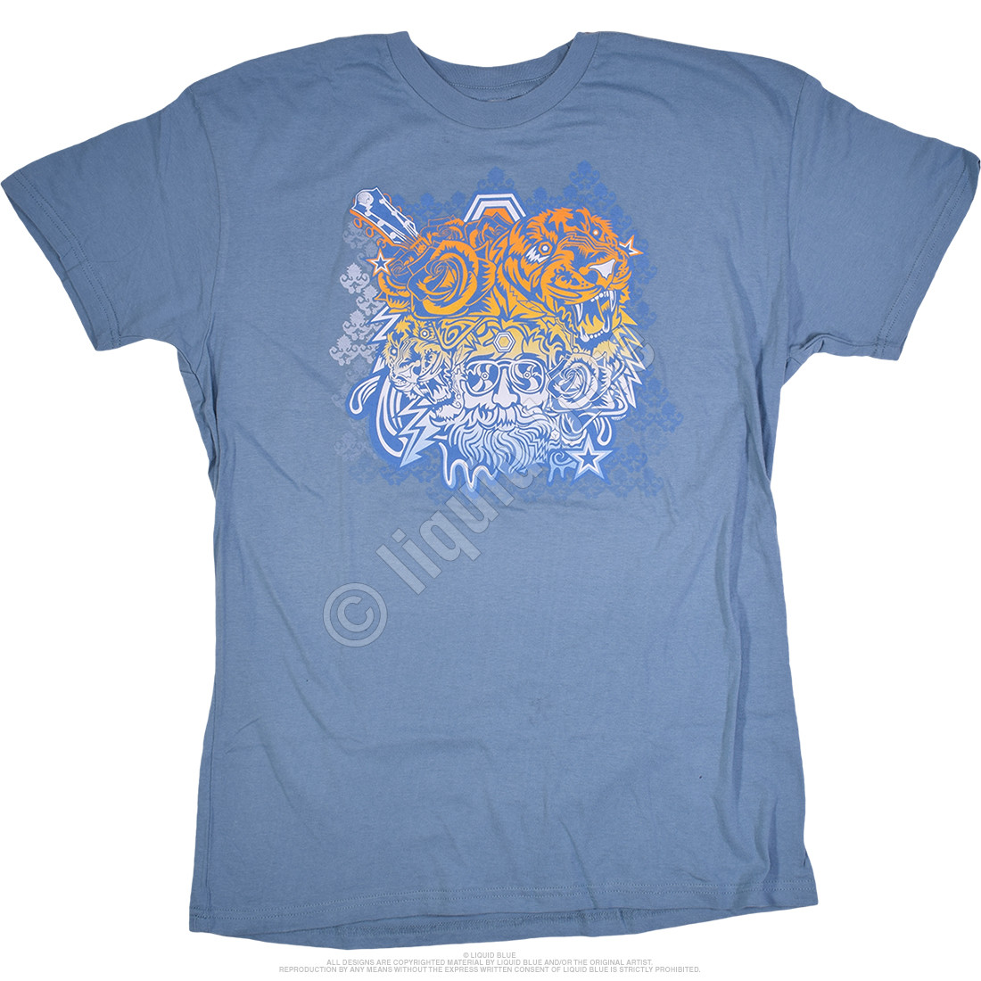 Garcia Tigers Blue T-Shirt