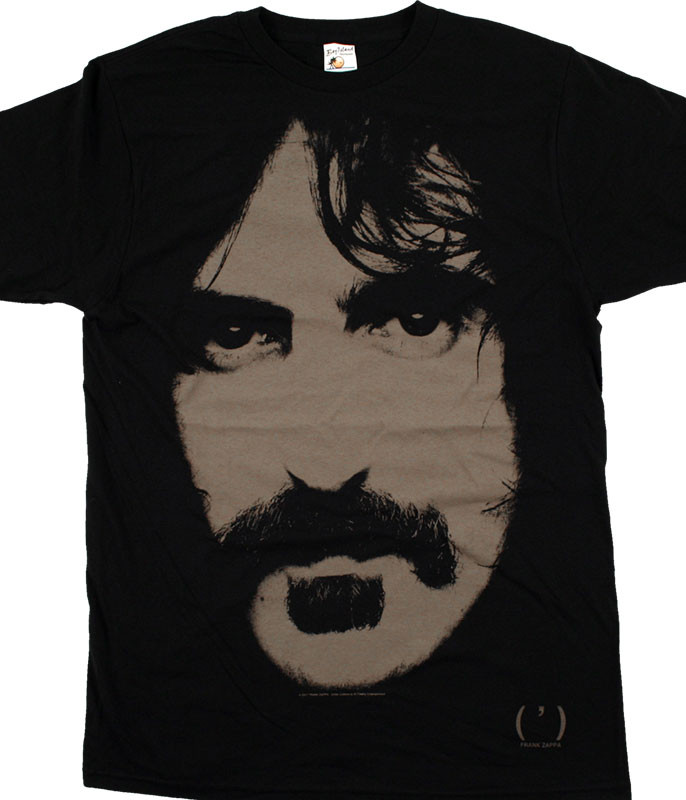 Frank Zappa Apostrophe Premium Black T-Shirt Tee