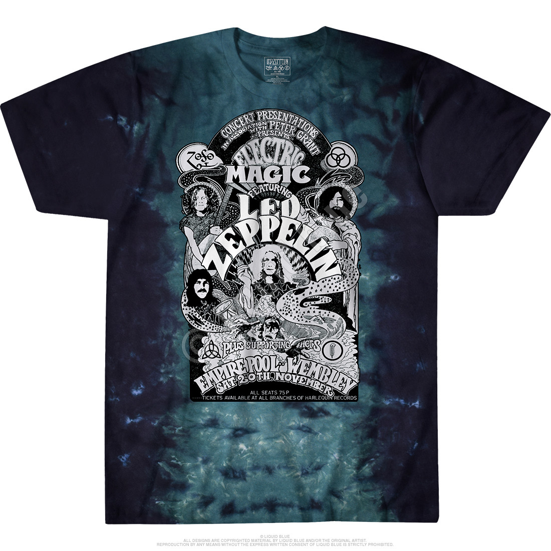 Electric Magic Tie-Dye T-Shirt
