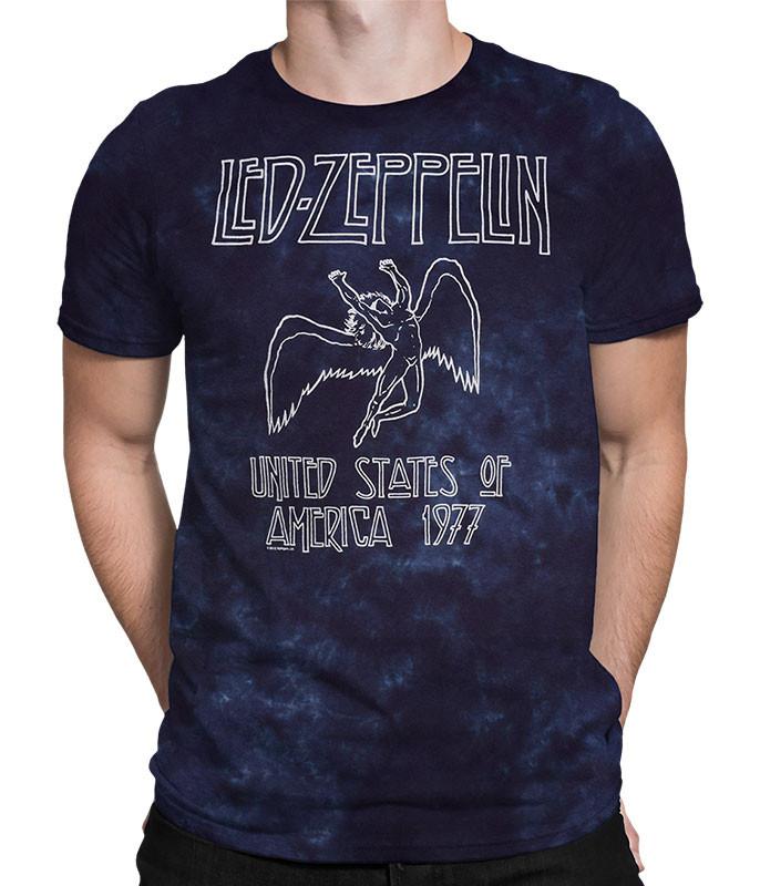 Usa Tour 77 Tie-Dye T-Shirt