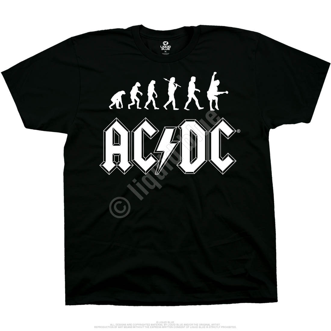 Rock Evolution Black T-Shirt