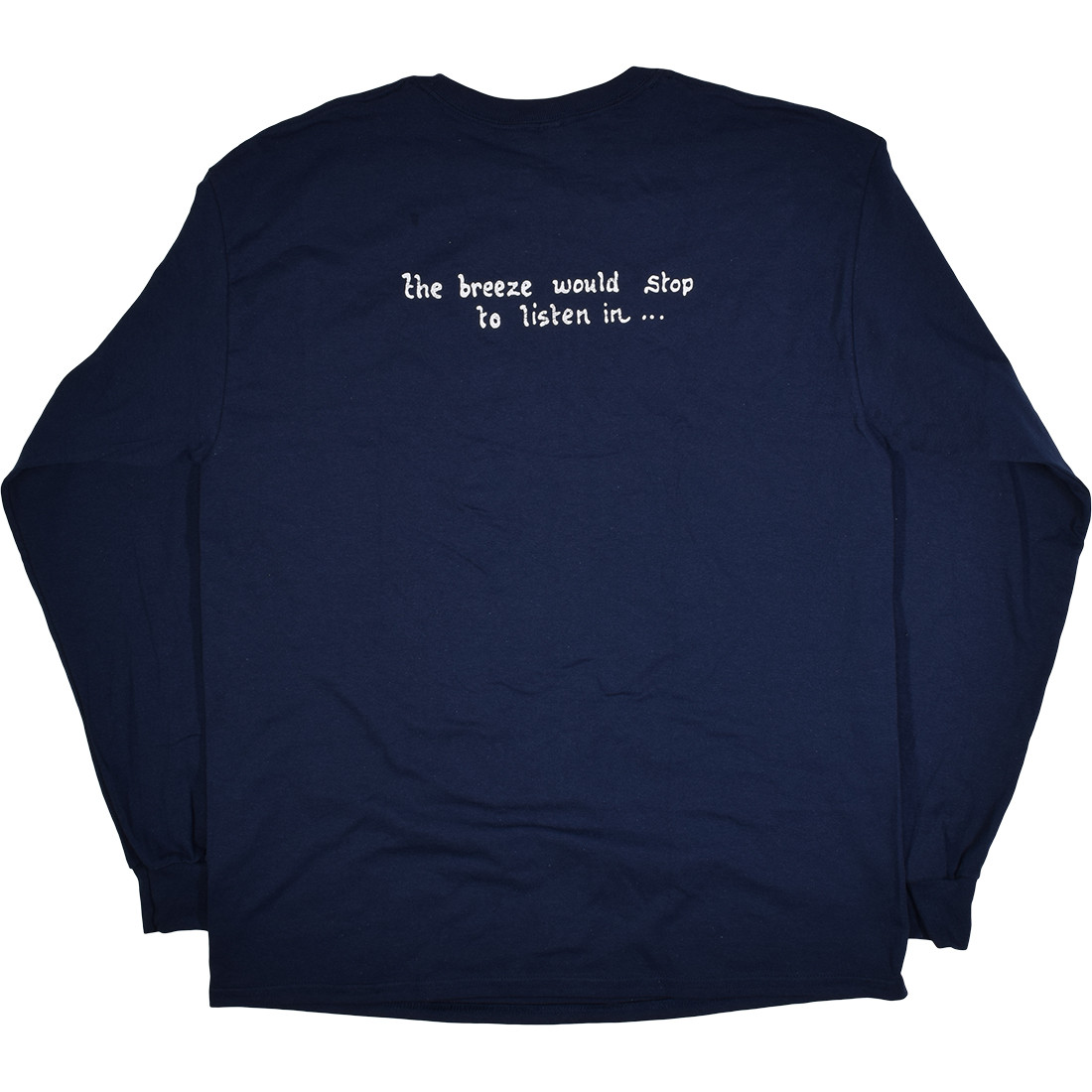 Jerry Garcia Acoustic Navy Long Sleeve T-Shirt