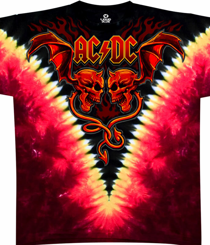 EVIL WINGS TIE-DYE T-SHIRT
