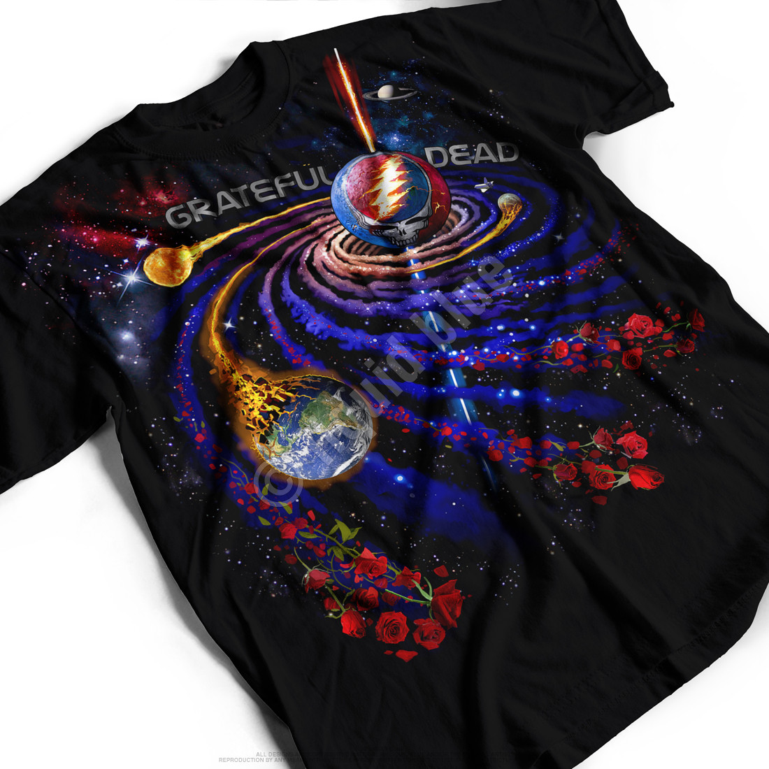 Steal Your Orbit Black T-Shirt