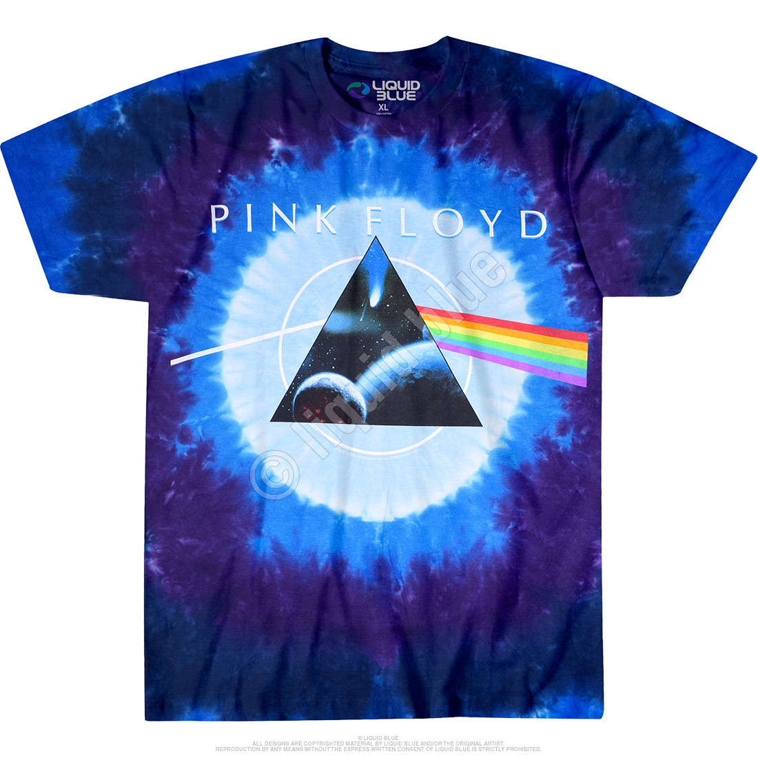 Dark Side Galaxy Tie-Dye T-Shirt