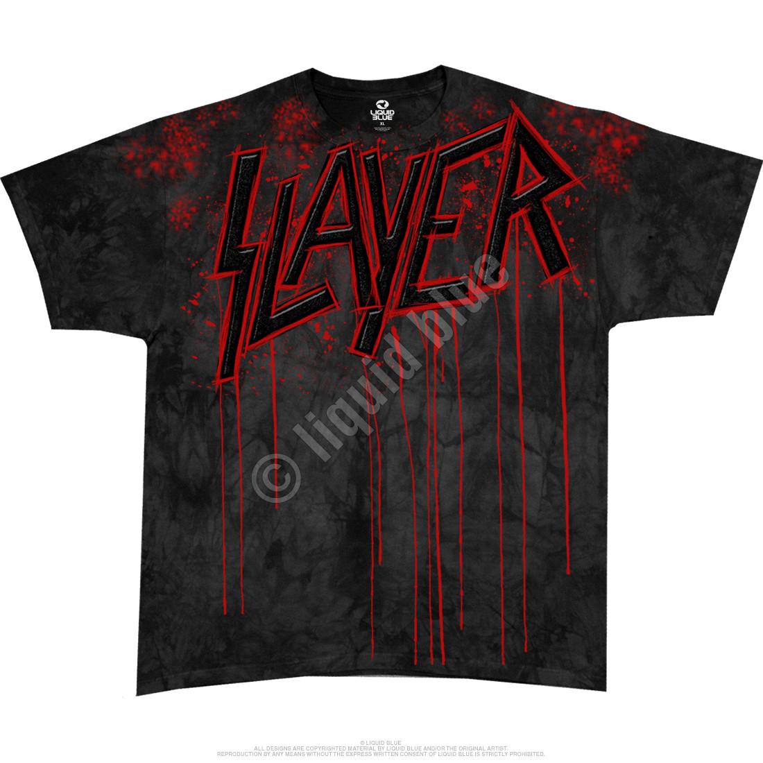 Raining Blood Tie-Dye T-Shirt