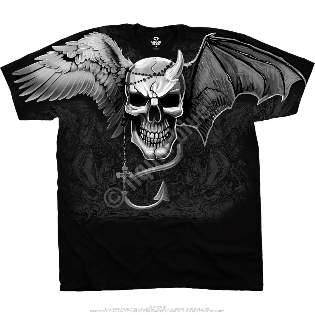Demon Angel Black T-Shirt