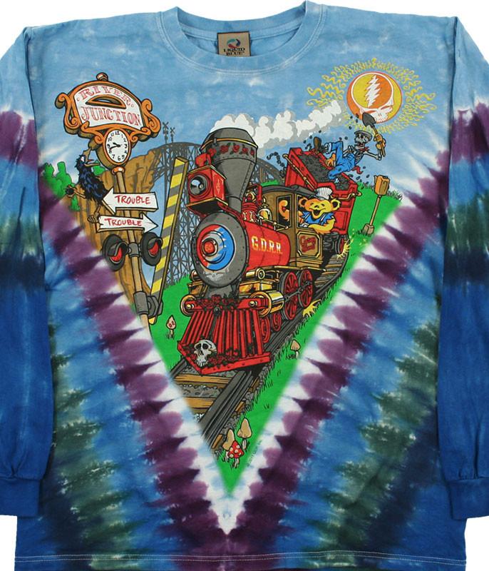 Casey Jones Tie-Dye Long Sleeve T-Shirt