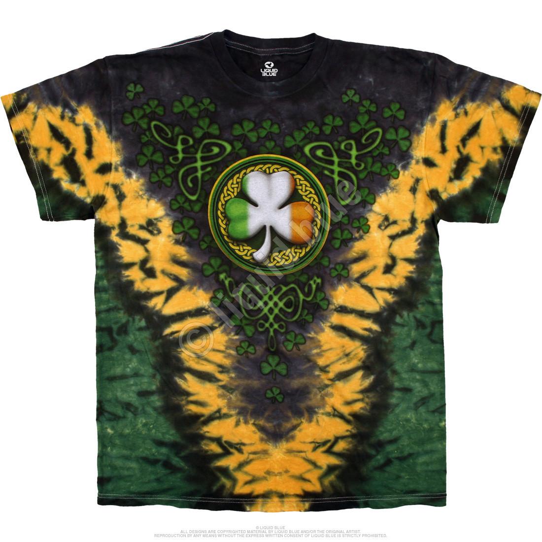 Shamrock V Tie-Dye T-Shirt