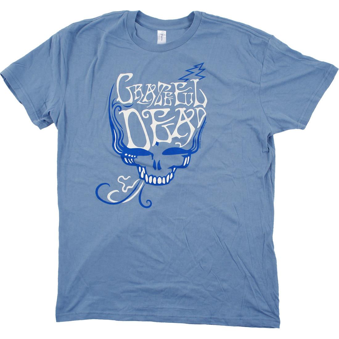 GD Blue Rose Smoke Light Blue T-Shirt