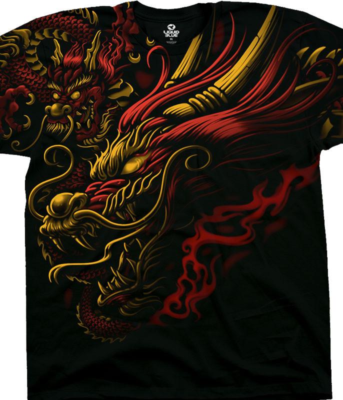Imperial Power Black T-Shirt