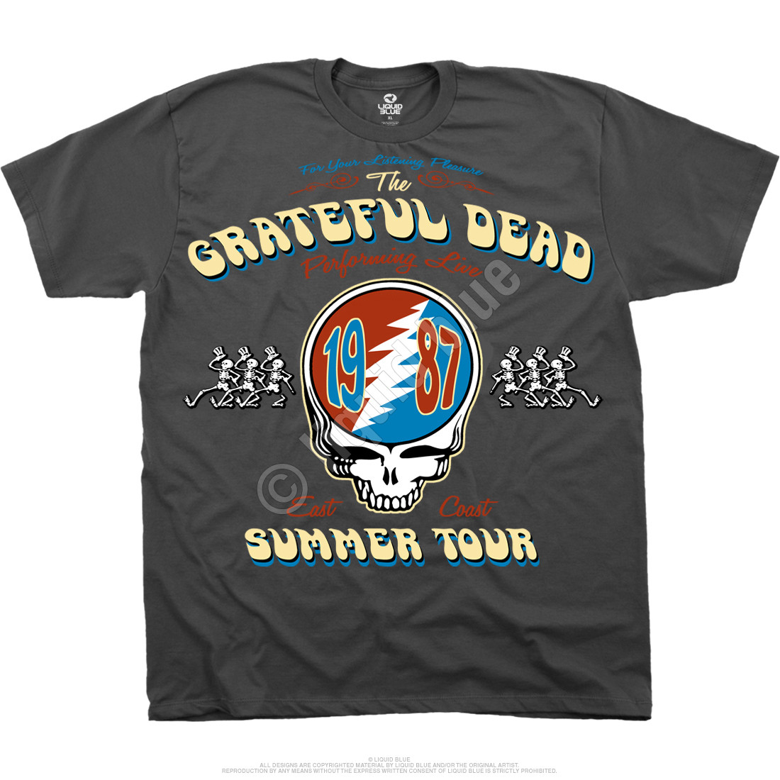 Summer Tour 87 Grey T-Shirt
