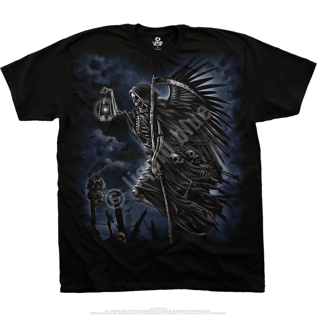 Soul Taker Black T-Shirt