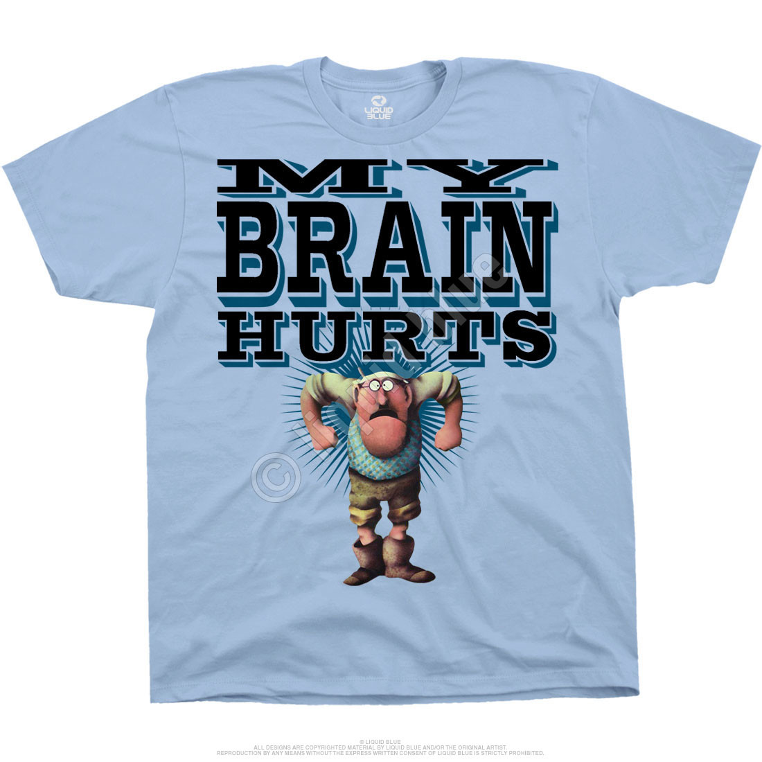 Gumbys Light Blue T-Shirt