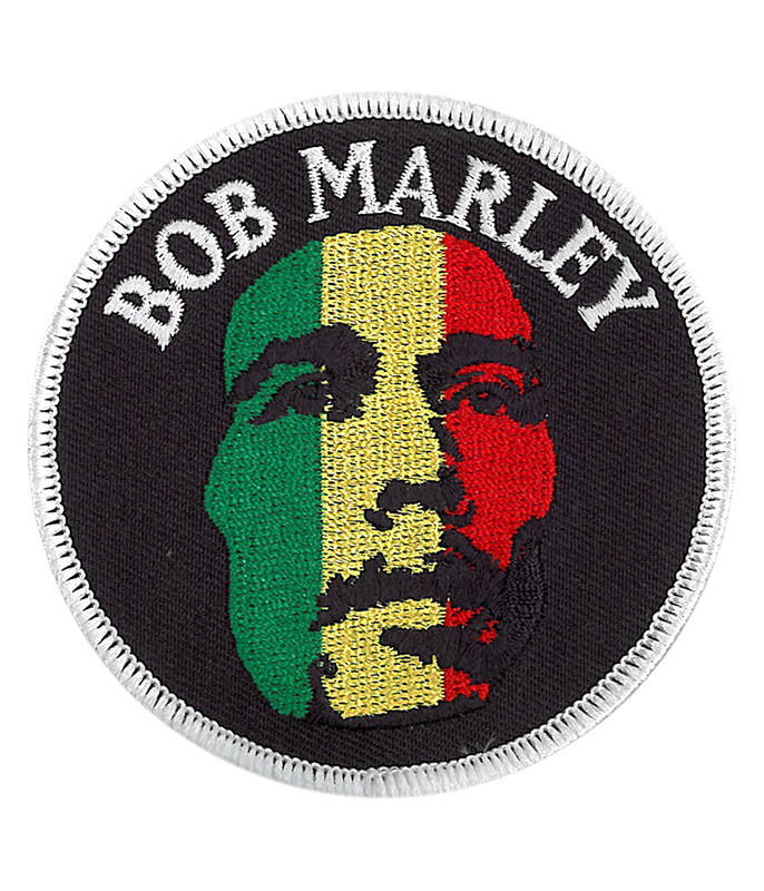 Bob Marley Face Patch