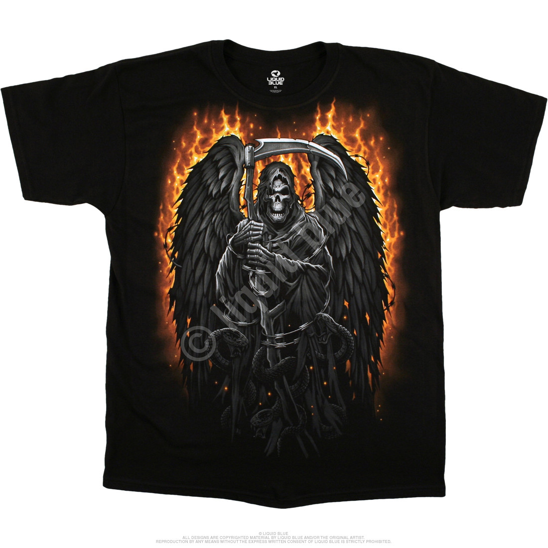 Fire Reaper Black T-Shirt
