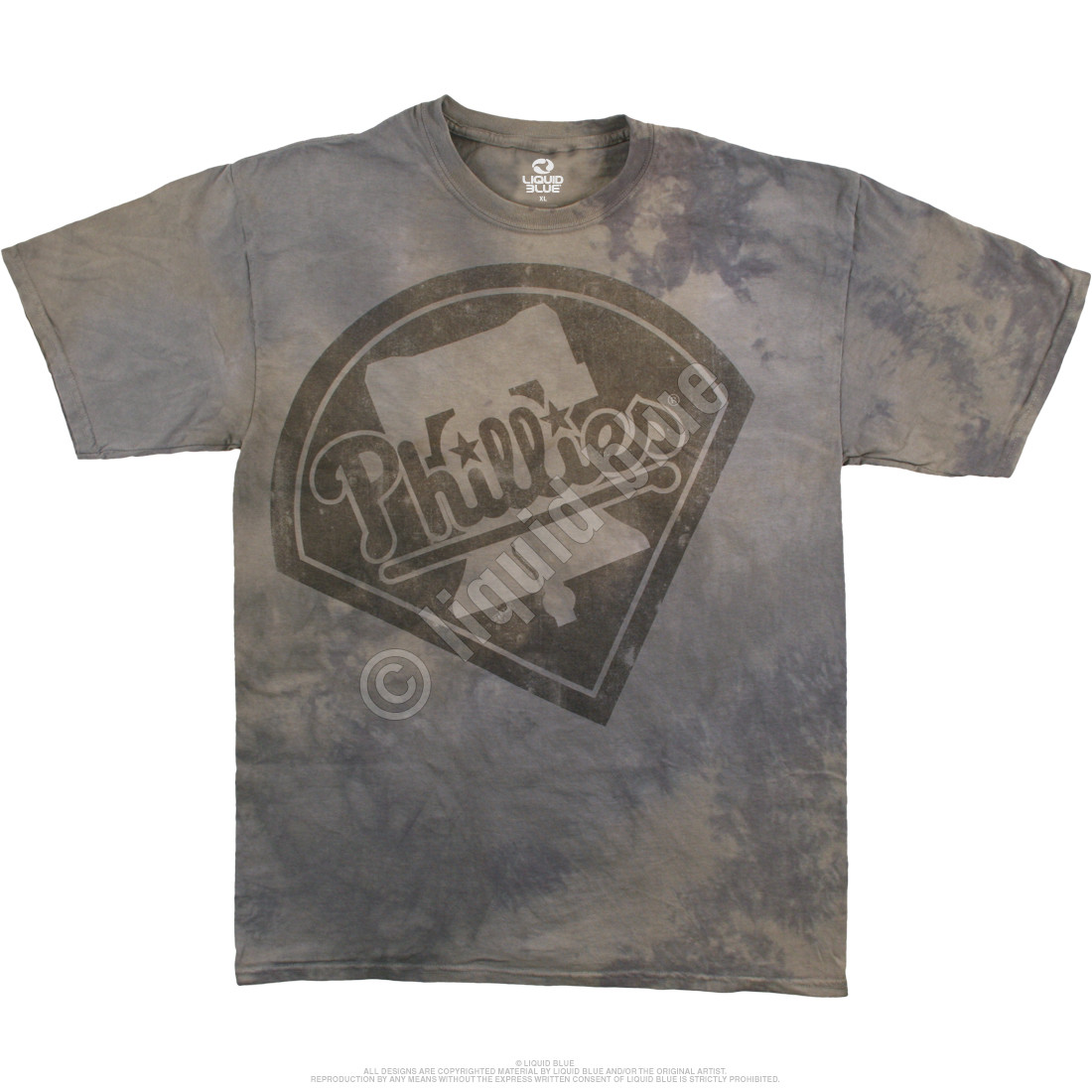 Philadelphia Phillies Tonal Tie-Dye T-Shirt - Clearance 30% OFF