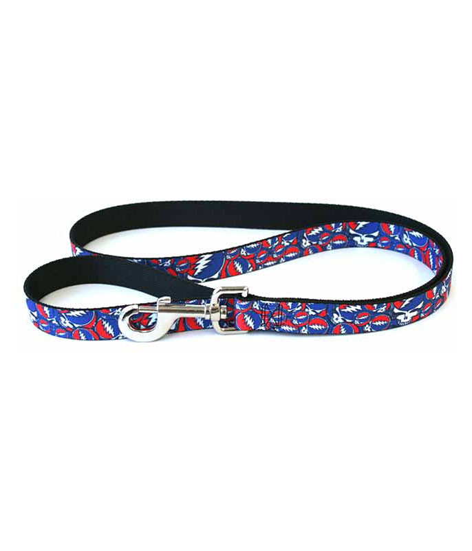 Grateful Dead GD SYF Collage Dog Leash Black