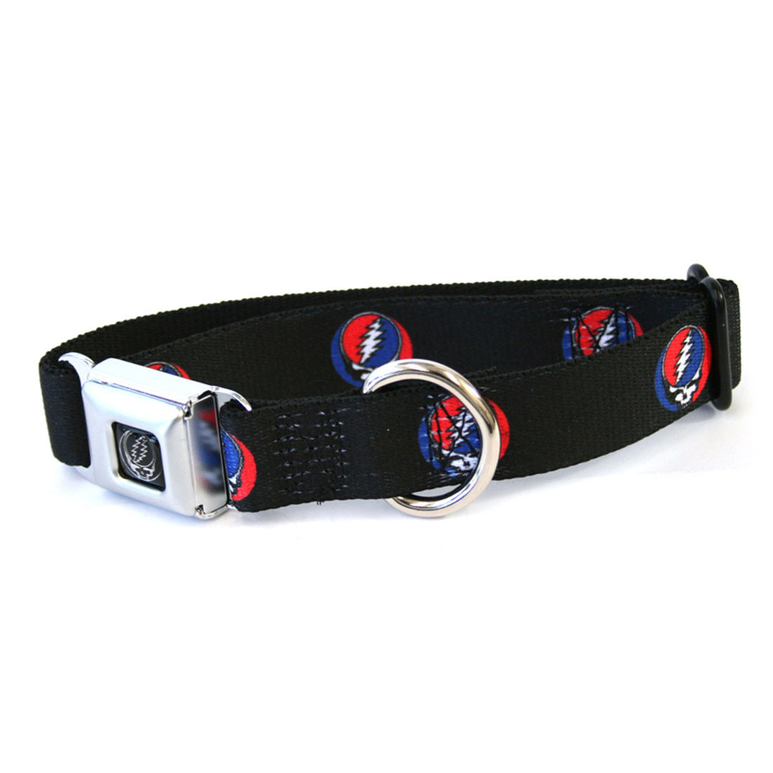 SYF Dog Collar Lg Black