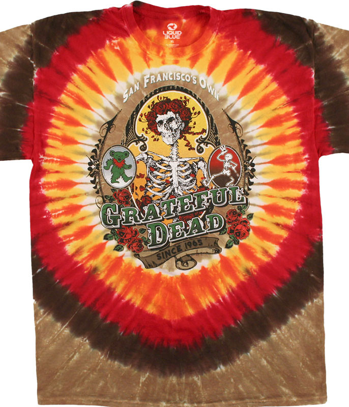 BAY AREA BELOVED TIE-DYE T-SHIRT