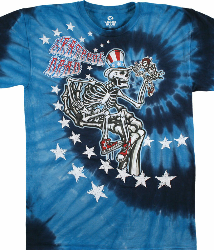Uncle Sam I Am Tie-Dye T-Shirt