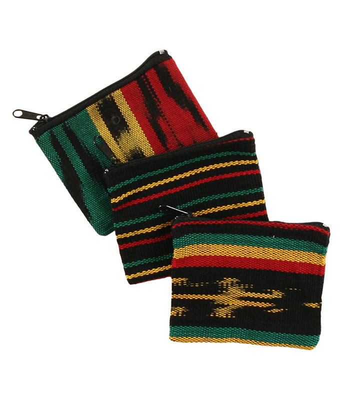 Rasta Coin Purse Assorted