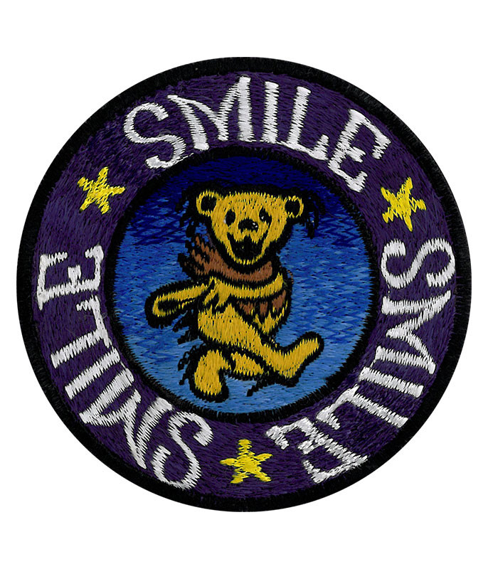 Grateful Dead GD Smile Smile Smile Patch
