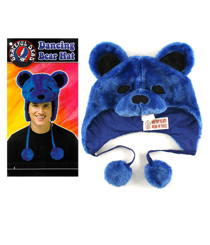 Grateful Dead GD Dancin Bear Blue Hat
