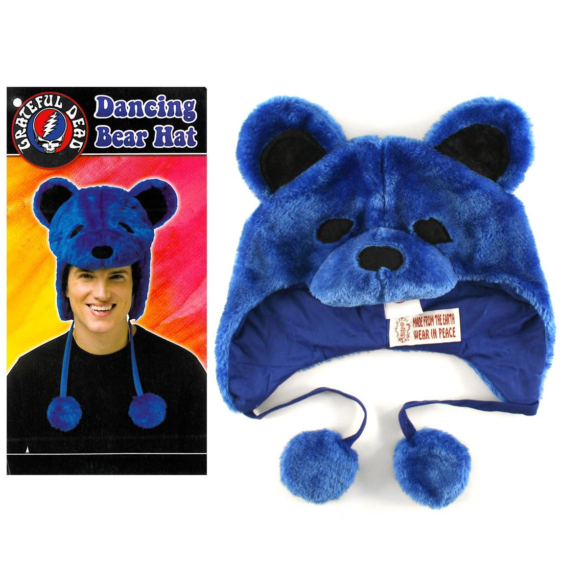 GD Dancin Bear Blue Hat