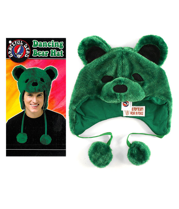 Grateful Dead GD Dancin Bear Green Hat