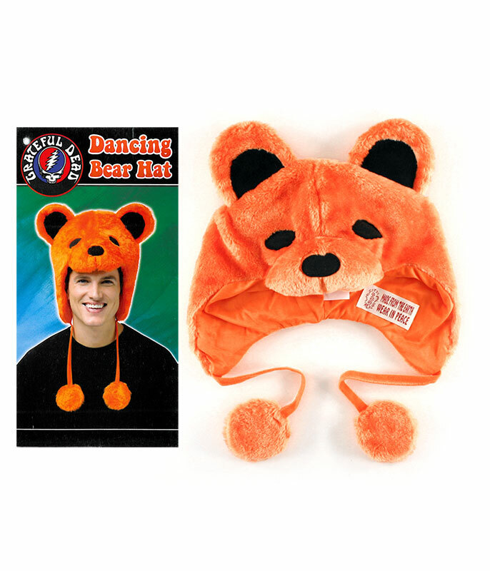 Grateful Dead GD Dancin Bear Orange Hat
