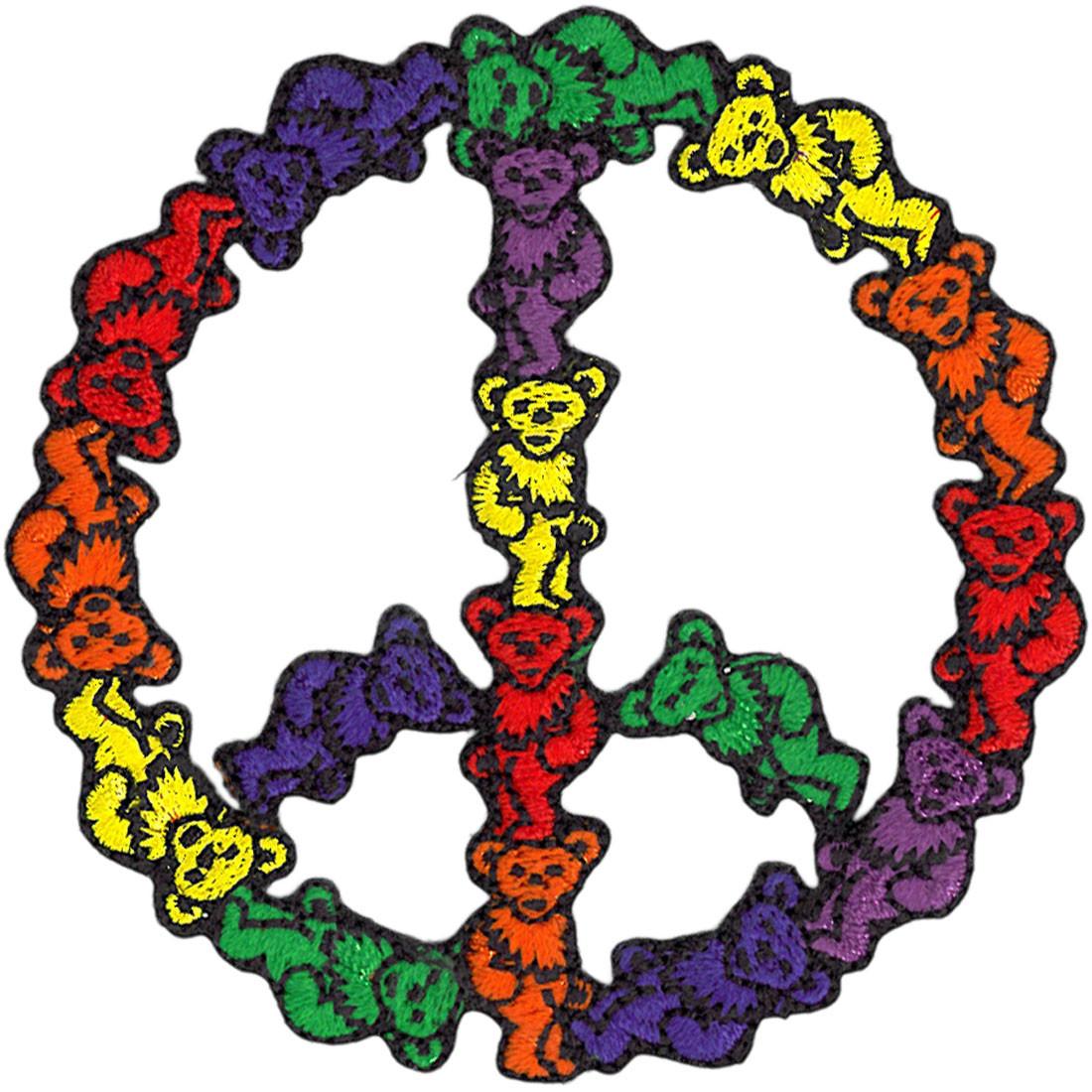 GD Bear Peace Patch
