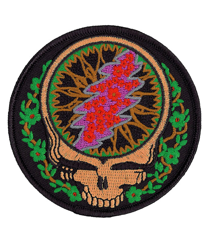 Grateful Dead GD SYF Vines and Roses Patch
