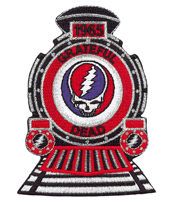 Grateful Dead GD Train Patch