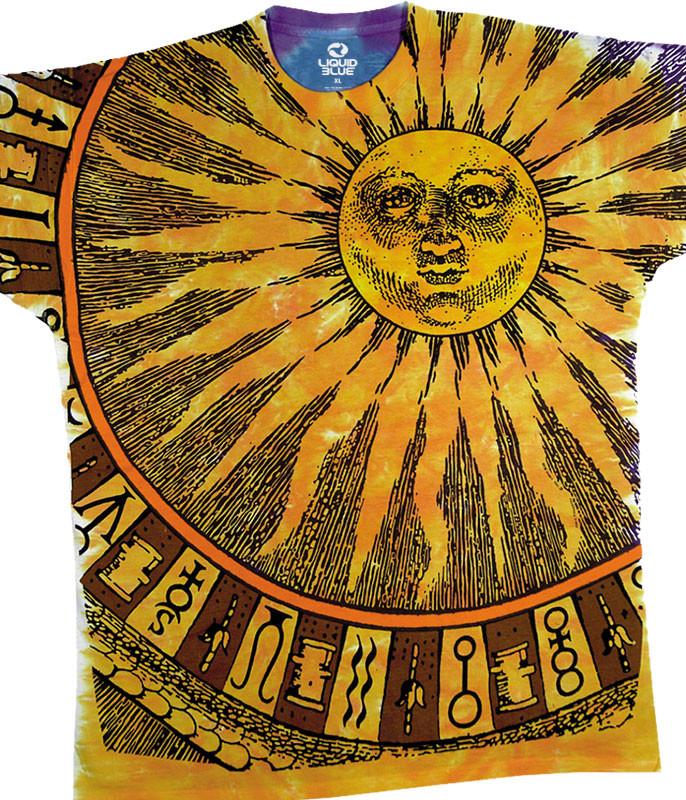 Sun Moon Tie-Dye T-Shirt