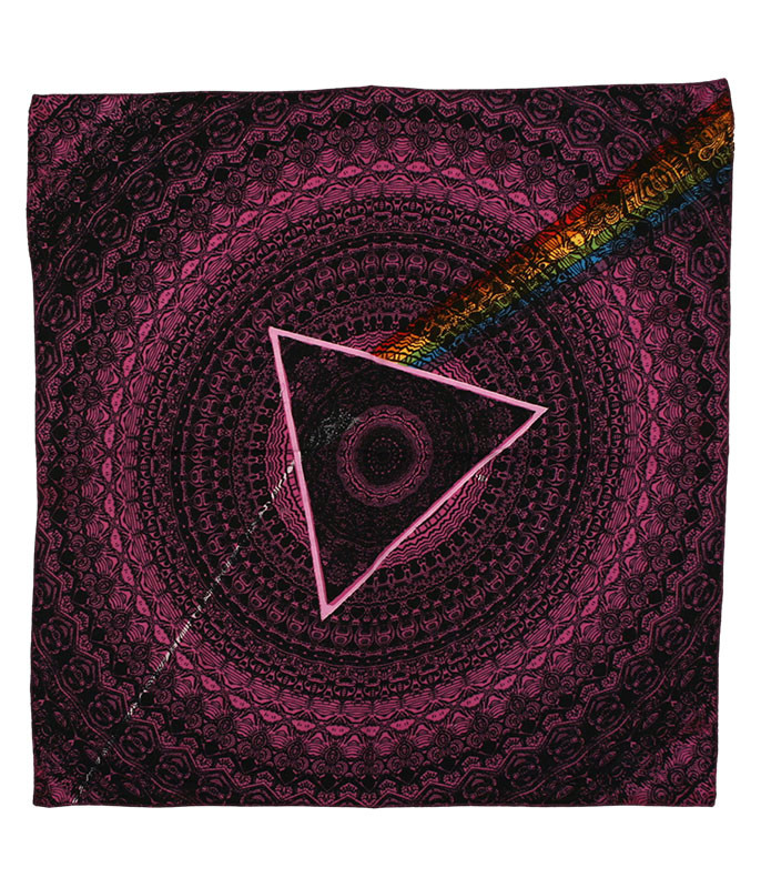 Pink Floyd PF Dark Side Purple Bandana