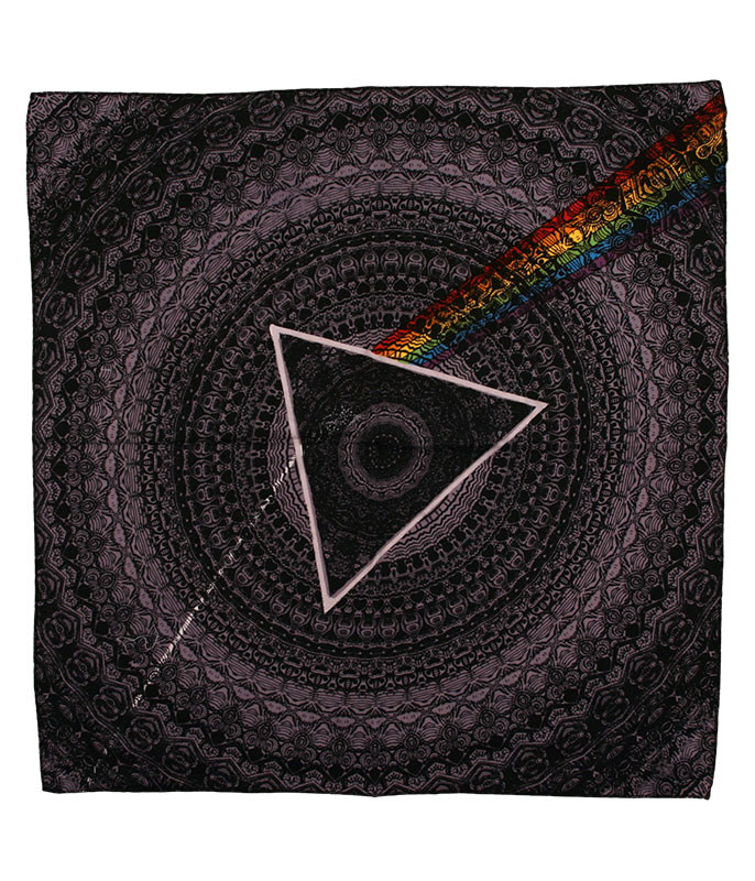 Pink Floyd PF Dark Side Black Bandana