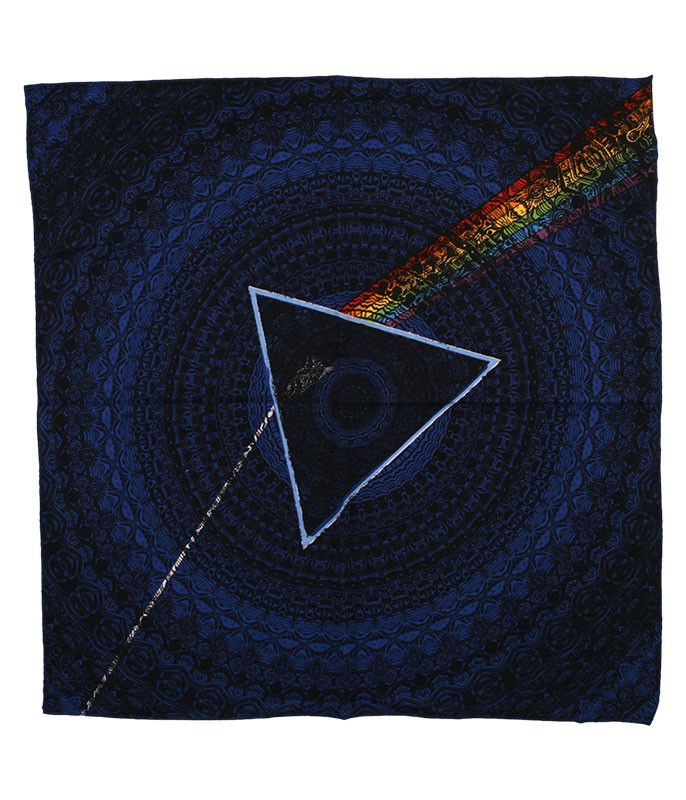 Pink Floyd PF Dark Side Navy Bandana