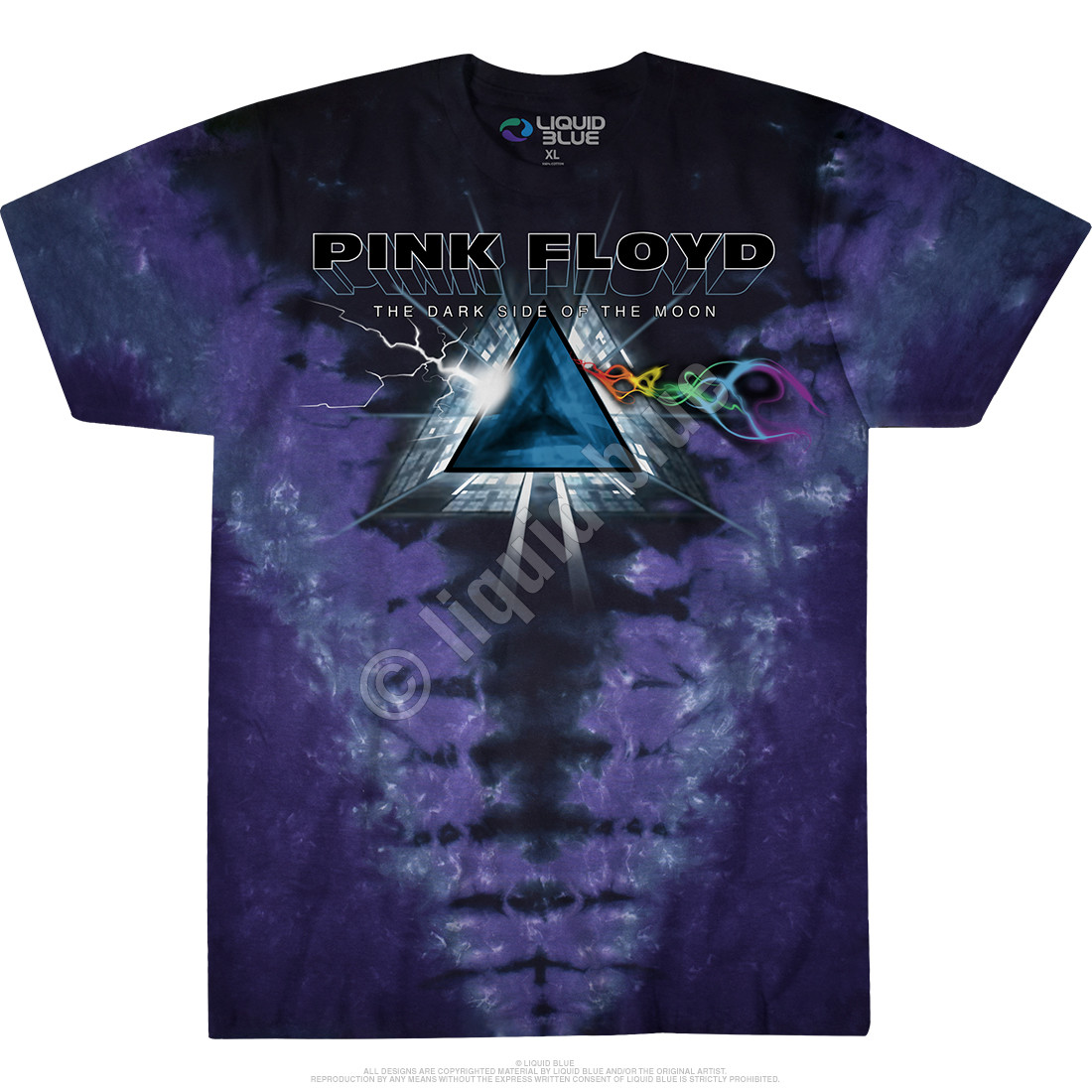 Dark Side Vortex Tie-Dye T-Shirt