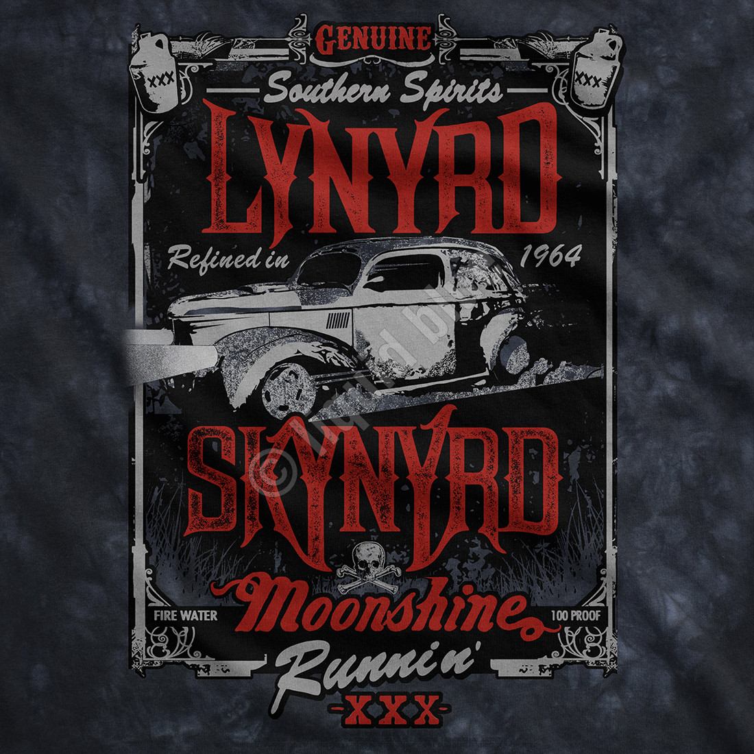 Moonshine Runnin' Tie-Dye T-Shirt