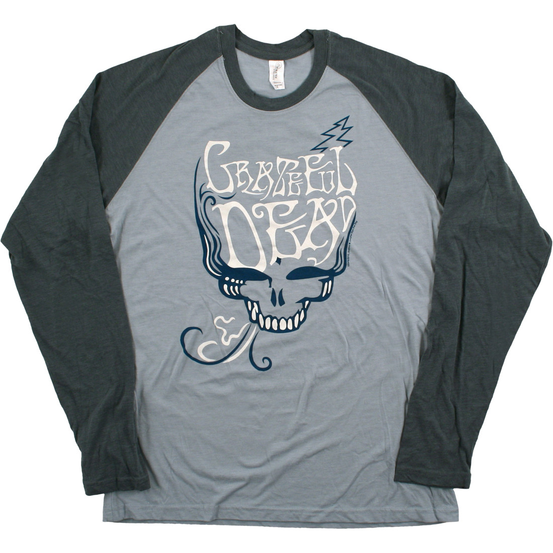 GD Blue Rose Smoke Light Blue Long Sleeve T-Shirt