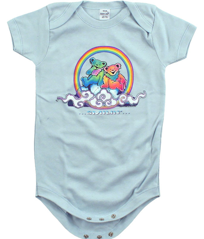 GD Bears Cloud Light Blue Onesie