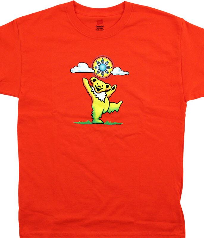 GD Sunny Bear Youth Orange T-Shirt