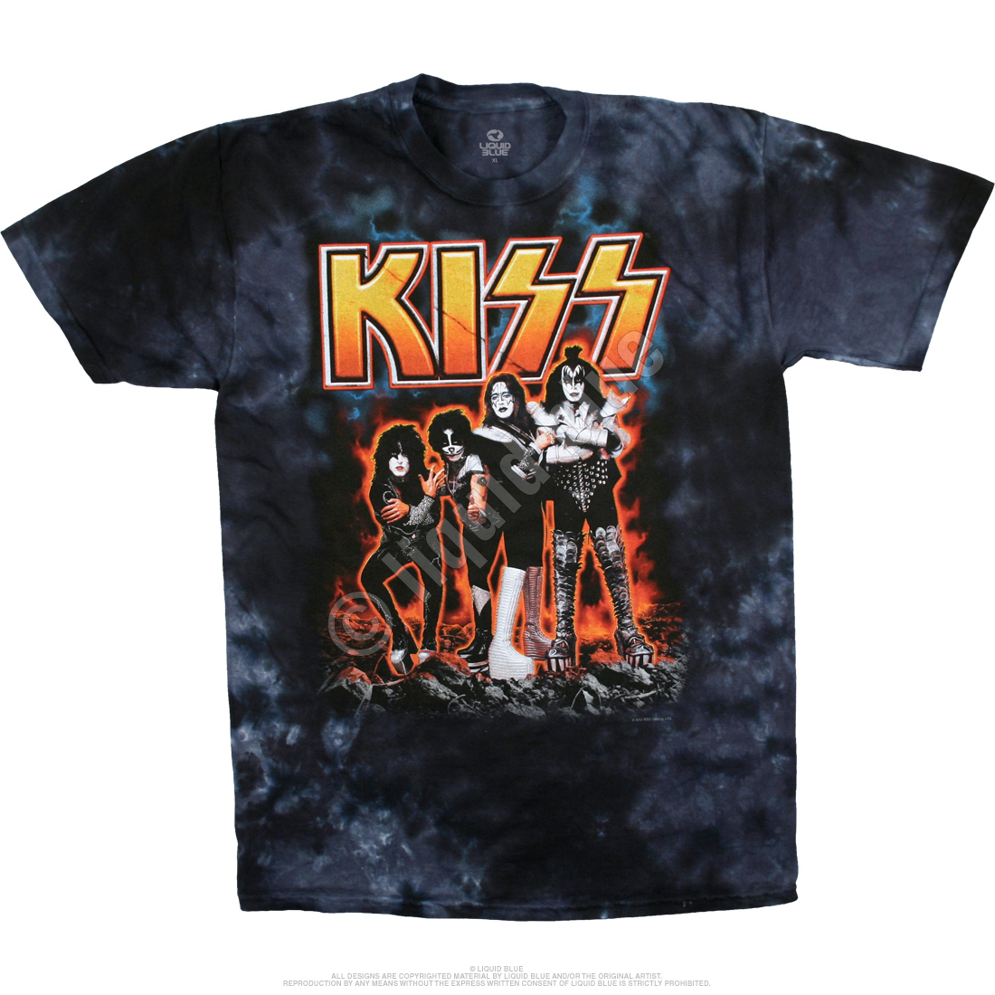 Hotter Than Hell Tie-Dye T-Shirt