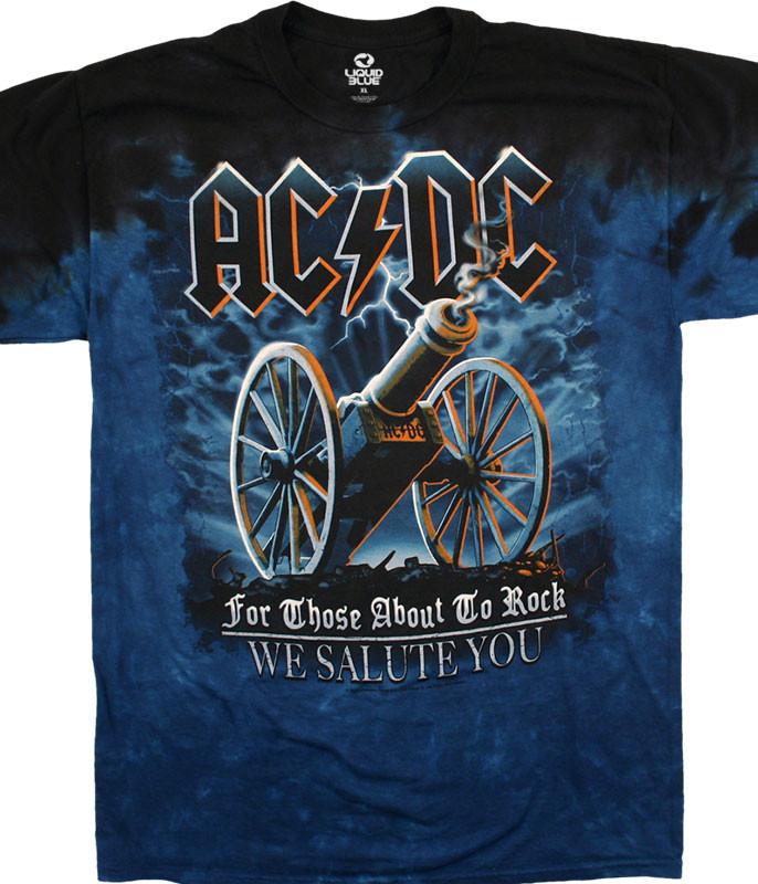 21 Gun Salute Tie-Dye T-Shirt