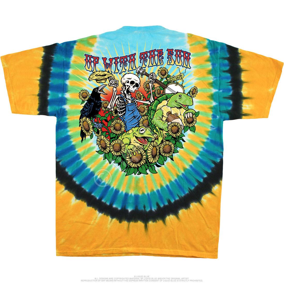 Sunrise Jam Tie-Dye T-Shirt