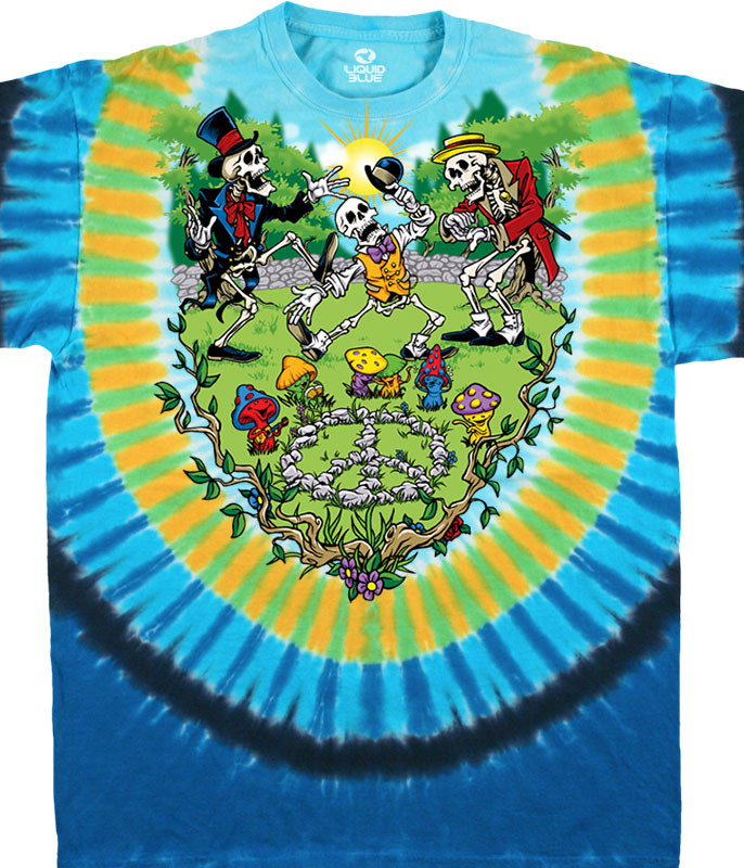 Shroomin' Tie-Dye T-Shirt