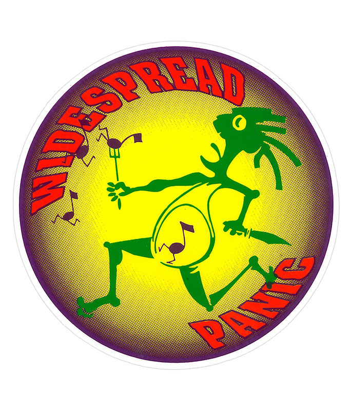 Widespread Panic Note Eater Sticker