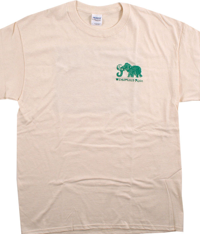 Widespread Panic Big Wooly Tan T-Shirt Tee